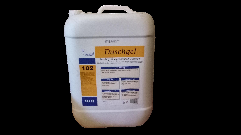SWAN 102 Relax Dushgel - sprchový gel 10L