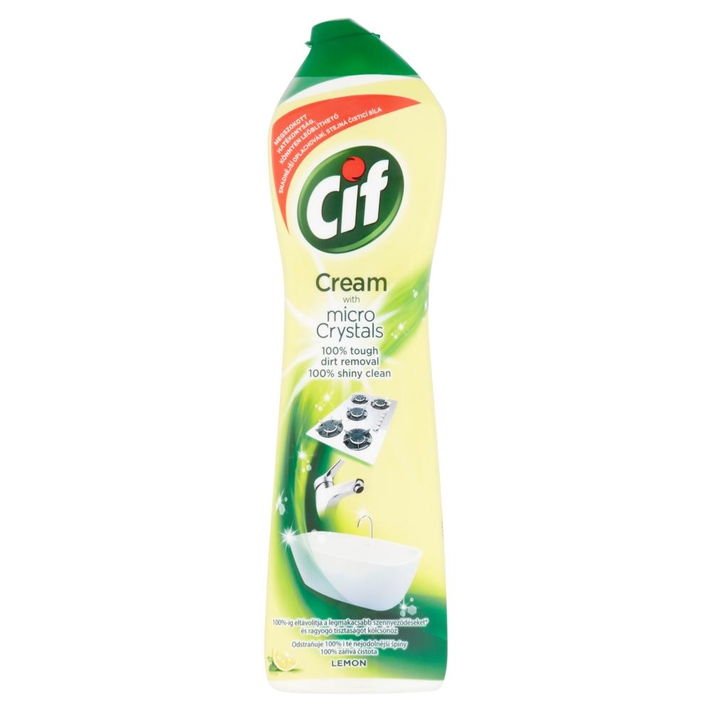 CIF Cream 500 ml, Lemon