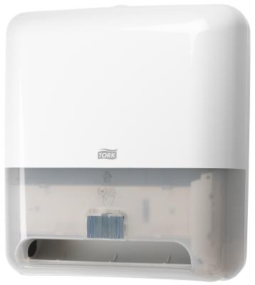 Tork zásobník na papierové utierky v kotúči - senzorový, biely