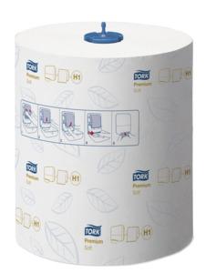 Tork Premium papierové utierky na ruky v kotúči H1 Matic system