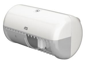 Tork zásobník na toaletný papier – konvenčný kotúč, biely plast